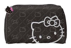Hello Kitty Cosmetic Pouch, part of Sanrio's Travel Chic Collection - Now Available at Afryl's Accessories...