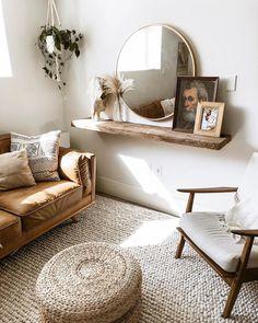 Hira Natural Ivory Rug 8 x 10 - Boho Wohnzimmer Boho Living Room, Home And Living, Living Room Decor, Bedroom Decor, Modern Living, Living Rooms, Elegant Home Decor, Cheap Home Decor, Modern Decor