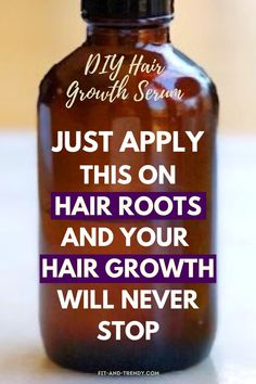 Miracle DIY Hair Growth Serum