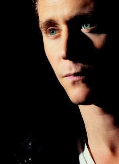 Tom Hiddleston. Oh those eyes.