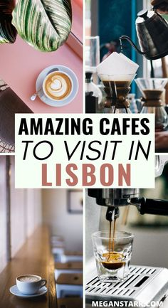 The Best Coffee in Lisbon, Portugal (Awesome Lisbon Restaurant, Delicious Destinations, Coffee Around The World, Portugal Travel Guide, Sardinia Italy, Cool Cafe, Lisbon Portugal, Romantic Vacations, Cafes