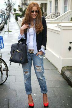 Boyfriend Jeans...!!! inspiration for next spring/summer 2014