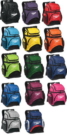 Speedo Pro Backpacks AKA a swimmers best friend! Without mine I am pretty sure I would die.