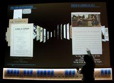 I nativi digitali e la scoperta, video-proiezione slides -  Museo Nazionale della Scienza e della Tecnologia Leonardo da Vinci Milano