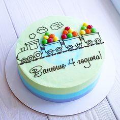 Birthday Cake Decorating Ideas For Boys Food 37 Ideas Buttercream Cake, Fondant Cakes, Cupcake Cakes, Birthday Cake Decorating, Cake Birthday, Birthday Kids, Funny Cake, Dessert, Love Cake