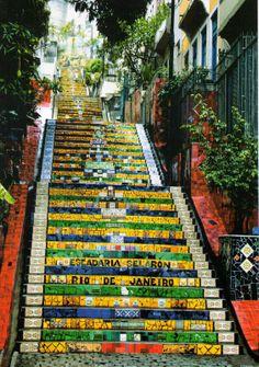 Selarón Stairs - Rio de Janeiro, Brazil