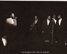 "The Moonglows were a doo-wop group based in Cleveland, Ohio. Alan Freed named them 'the Moonglows."" Lead singer Harvey Fuqua served as the group's leader and chief writer. Vocals were split between Bobby ""Lester"" Dallas and Fuqua, and sometimes, in the group's occasional duet leads, both. The other members were tenor Alexander ""Pete"" Graves and bass Prentiss Barnes, with Billy Johnson on guitar. ""Sincerely"" was their first big hit."