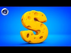 (11) CINEMA 4D TUTORIAL CHEESE TEXT EFFECT - YouTube