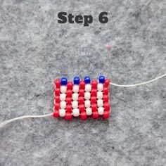 Independence Day will soon be upon us and to mark the occasion, we've designed a fun tutorial for you today – a peyote stitch beaded ring made up as a representation of the American flag! Included…