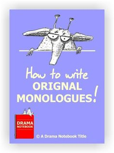 how to write a monologue about a character