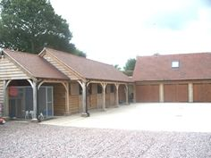 Timber Frame Stables, Kennel and Garages
