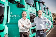 Heinz Schauperl Logistics - Branding on Behance Branding, Brand Identity, Austrian Village, Right Time, Family Business, Behance, Past, Brand Management, Identity Branding