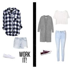 """""""Untitled #7"""" by albertenowak on Polyvore featuring Topshop, Vans, Glamorous, By Malene Birger, MANGO and Converse"""