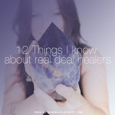 Shamans, intuitives, channellers, mediums, clairvoyants, seers, priestesses, ministers, healers, crystal workers, alchemists, and energy workers. I know them. I started reading books of channelled material when I was thirteen. Went to my first psychic at
