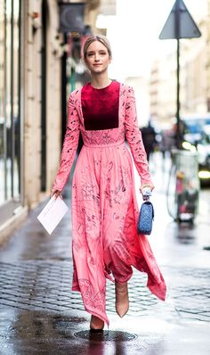 Who would have thought that wearing pink and red together would have gone from taboo to totally on trend in 2017?