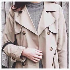 Instagram photo by peacocksonline - @shynature wearing our #staple lightweight trench coat - a #classic cover up for both #summer and #autumn that never go out of #style. #regram #outfit #ss15 #fashion #nudes #neutrals