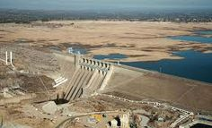 Increasingly Lower Lake Water Levels Drop Below Dam Level