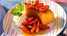 Baba fruits de la passion et fraisesVoir la recette du Baba fruits de la passion et fraises >>