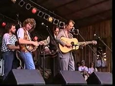Tony Rice, Sam Bush, Jerry Douglas, Mark O'Connor at Merlefest 1993