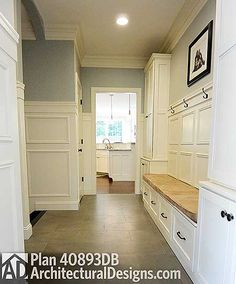 Kitchen with Two Islands - 40893DB   Traditional, Photo Gallery, 1st Floor Master Suite, Butler Walk-in Pantry, CAD Available, Den-Office-Library-Study, PDF, Corner Lot   Architectural Designs