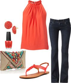"""Summer Date Night"" by honeybee20 on Polyvore"