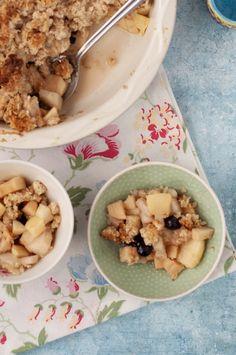 Crumble Oatmeal, Paleo, Sweets, Breakfast, Food, The Oatmeal, Morning Coffee, Good Stocking Stuffers, Rolled Oats