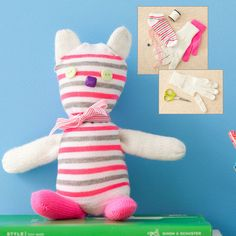 Make a Cute Sock Toy for Kids