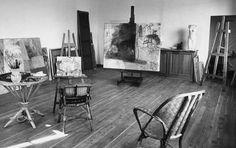 studio of Raoul Duffy