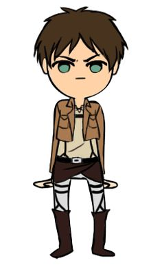 Armin is so CUTE!! Levi is KILLIN' IT!! Eren looks MADLY AWESOME!! Mikasa looks, well, like Mikasa.