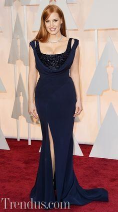 Oscar 2015 Kırmızı Halı - Jessica Chastain