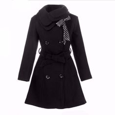 Double Breasted Coat Outerwear Jacket in Yellow – Lily & Co. http:scorpiofashions.com