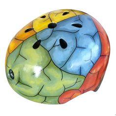 Brain Helmet, $120, now featured on Fab.