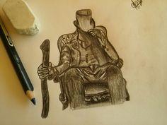 Man in tattoo
