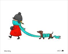 Winter with a Weiner!