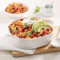 Riz mexicain - Les recettes de Caty