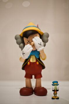 KAWS>Companion (Pinocchio and Jiminy)