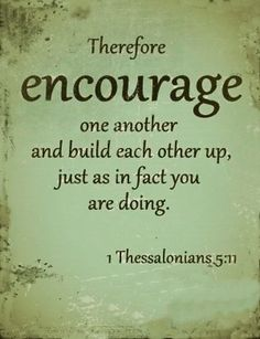 bible verses about encouraging one another - Bing Images