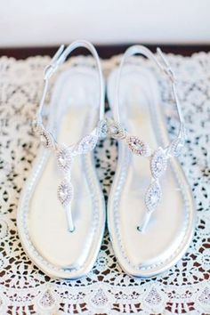 May wedding jeweled sandals for brides, Sliver shoes for May wedding