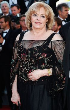 Michèle Mercier in 2011 in Cannes. Cannes, Robert Hossein, Michelle Mercier, French Actress, Timeless Beauty, Film, Movie Stars, Celebs, Marchesa