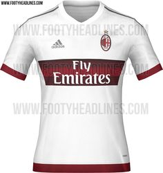 The new Adidas AC Milan Home Kit features a traditional design. The new AC  Milan Away Jersey is white, while the AC Milan Third Kit is dark green with  ...