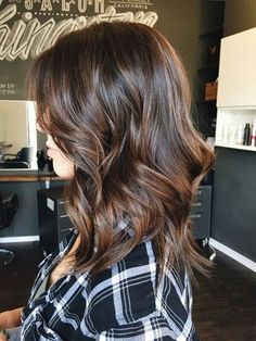 50 Balayage Hair Color Ideas with Brown and Caramel Highlights