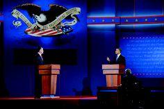 2012 Presidential Debate: Obama, Romney clash on economy during first debate