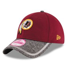 Washington Redskins New Era Women s Training Camp 9TWENTY Adjustable Hat -  Burgundy e575fb846
