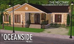 OC-Nectary-F01 The Sims 2, Sims 3, Sims 2 House, Sims Ideas, Shed, New Homes, Houses, Outdoor Structures, House Design