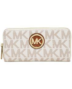 746c4441973df MICHAEL Michael Kors Fulton Zip Around Continental Wallet - Handbags  Accessories - Macys  mkwalletsmacys