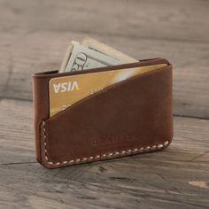 Fancy - Autumn Leather Card Holder