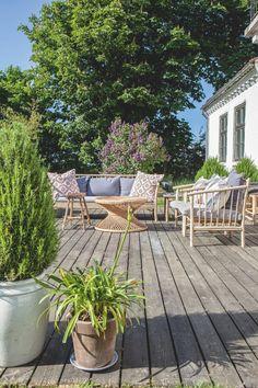 Tine K's personlige hjem med sarte pasteller og bambusmøbler | Boligmagasinet.dk