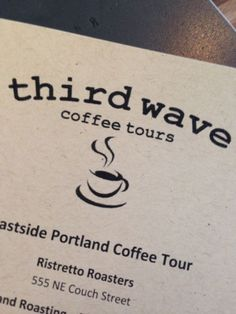5 coffee shops in one day with Third Wave Coffee Tours is the tour for you. Small pours letting you experience different brewing options and many different beans and roasting options.   http://eatingmywaythruportland.com/2014/01/17/girasole-wood-fired-cafe/