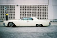 Lincoln Continental with suicide doors = amazing