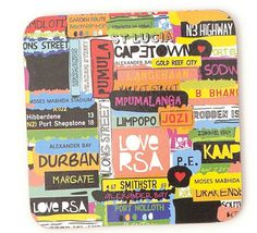 Love RSA Coasters from Mr Price South Africa Art, South African Design, Afrikaans, Africa Travel, Jessie, Cool Words, Followers, Design Art, Coasters